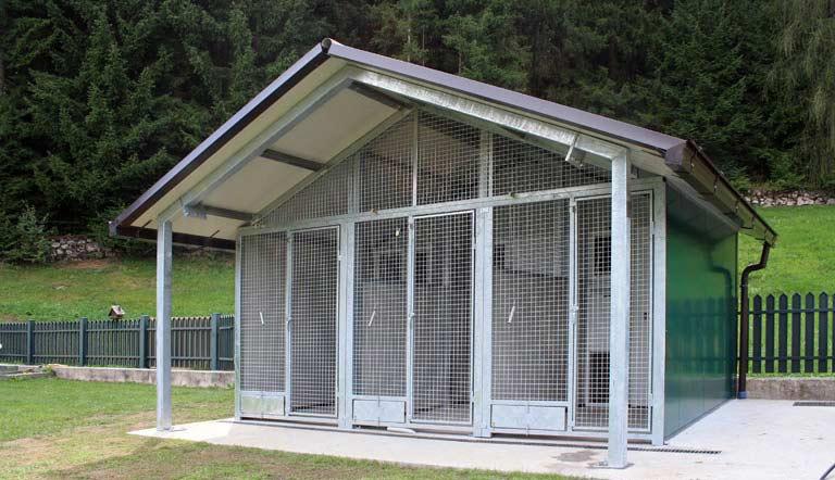 Box da giardino dogbox for Box cani prefabbricati prezzi