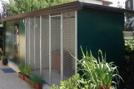 Box per cani da giardino