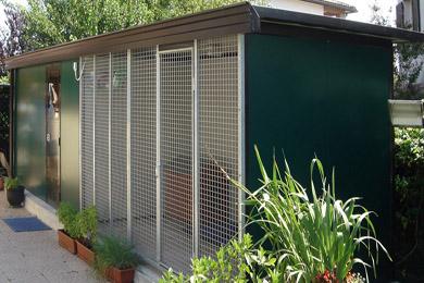 Box per cani da giardino dogbox for Arredamento per cani