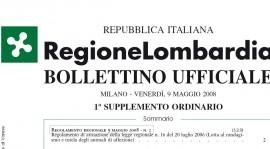 "LOMBARDIA ""Regolamento attuativo regione Lombardia"""
